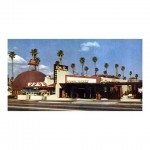 The Hollywood Brown Derby in 1952  lahistory 1950s