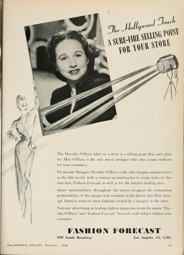 California Stylist, October 1945
