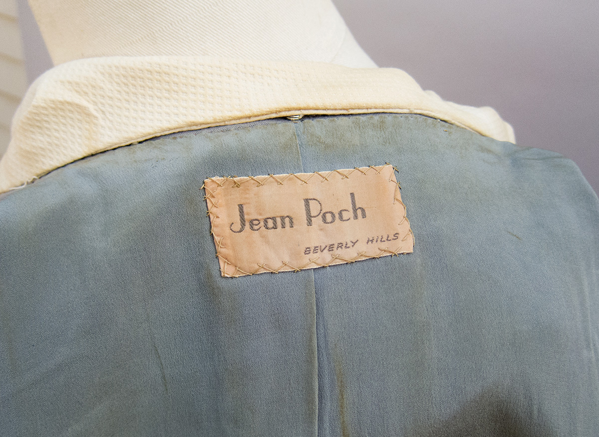 40 in 40: Jean Poch 1950s suit