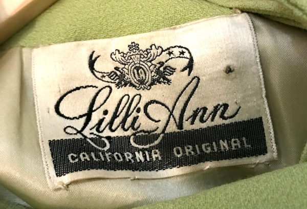 Lilli Ann Label 1946
