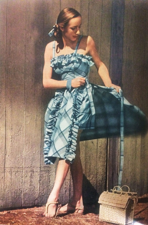 Photo by Herman Lanshoff for Mademoiselle, June 1946